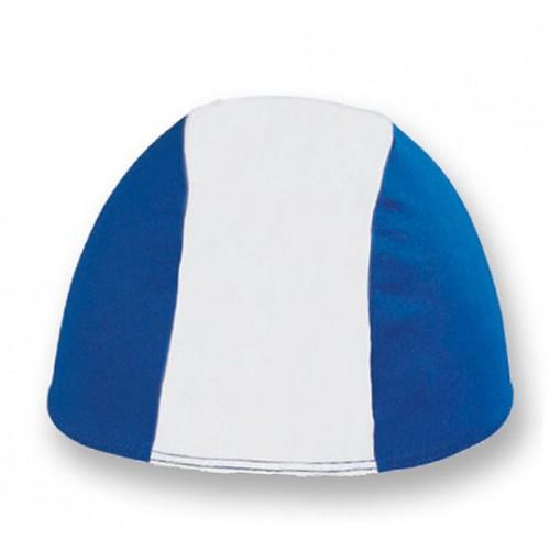 Cuffia in Poliestere - Bianco/Blu Chiaro - Adulto