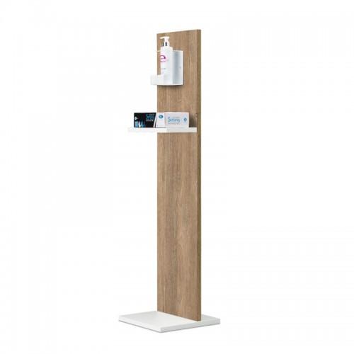 Piantana Colonnina per Gel Igienizzante - Wood Bicolor - IVA 5%