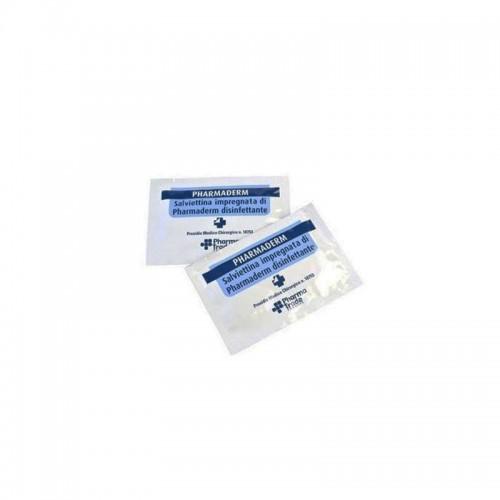 Pharma Trade - Salviettina Impregnata di Pharmaderm Disinfettante 1pz - IVA 5%